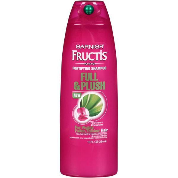 Fructis® For Visibly Fuller, Thicker Hair Full & Plush Shampoo