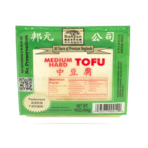 Banyan Medium Hard Tofu