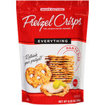 Pretzel Crisps Everything Thin Crunchy Pretzel Crackers