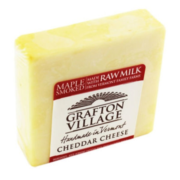 Grafton Village Maple Smoked Cheddar Cheese
