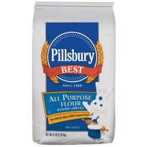 Pillsbury: Best All Purpose Bleached Enriched Flour, 5 Lb