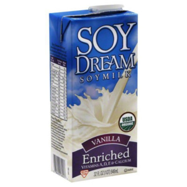 Soy Dream Organic Soymilk Vanilla