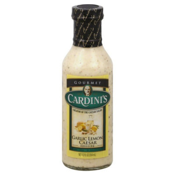 Cardini's Garlic Lemon Caesar Dressing