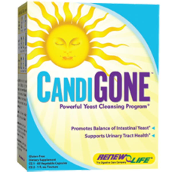 Renew Life CandiGone Yeast Cleansing Kit