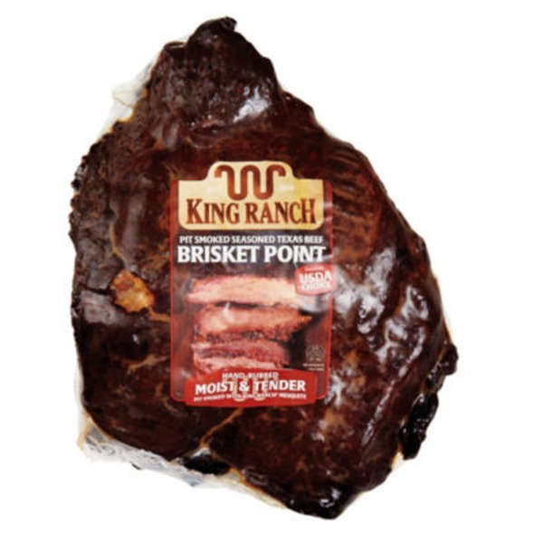 King Ranch Pit Smoke Seasoned Texas Beef Brisket Point