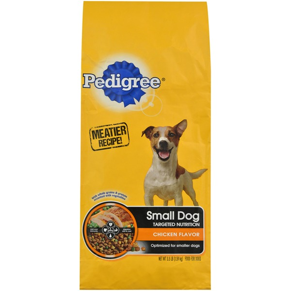 Pedigree Small Dog Complete Nutrition Roasted Chicken, Rice & Vegetable Flavor Dog Food