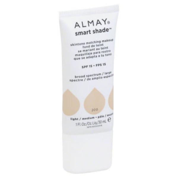Almay Smart Shade Skintone Matching Makeup - Light/Medium
