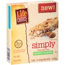 Life Choice Simply Coconut Almond Fruit & Nut Bar