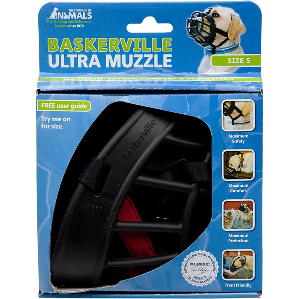 The Company Of Animals Baskerville Size 2 Ultra Muzzle For Dogs
