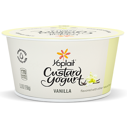 Yoplait Custard Whole Milk Yogurt Vanilla