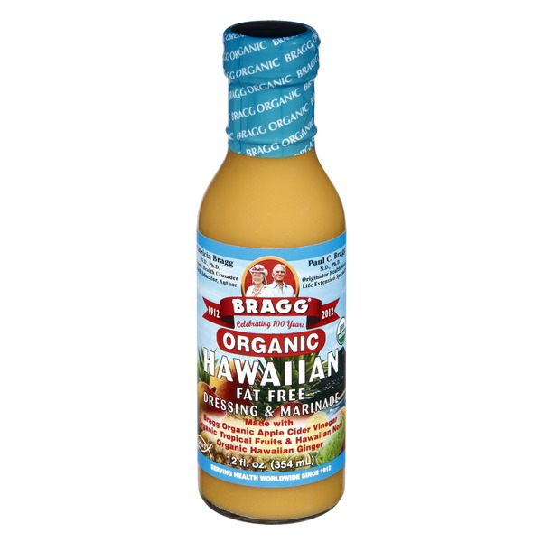 Bragg Organic Hawaiian Fat Free Dressing & Marinade