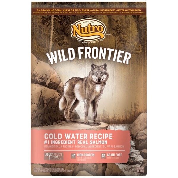 Nutro Wild Frontier Cold Water Recipe with Salmon Adult Dog Food
