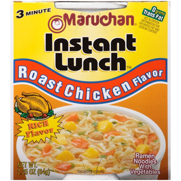 Maruchan Instant Lunch Roast Chicken Flavor Ramen Noodles