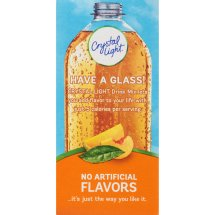 Crystal Light Drink Mix, Peach Mango Green Tea, .8 Oz, 10 Packets, 1 Count