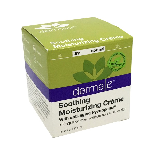 Derma E Moisturizing Creme, Soothing, With Pycnogenol, Dry-Normal