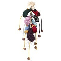 Leaps & Bounds Mice Cat Toys On A Rope Pack Of 8 Toys