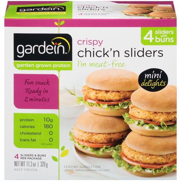 Gardein Crispy Chick'n Sliders