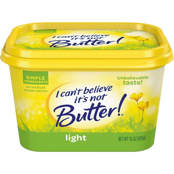 I Can't Believe It's Not Butter Light Buttery Spread