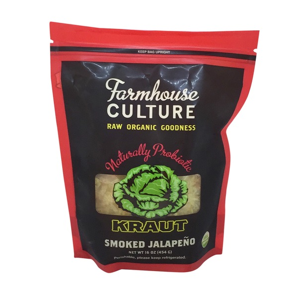Farmhouse Culture Organic Smoked Jalapeno Kraut