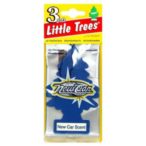 Little Trees Air Fresheners New Car Scent - 3 CT