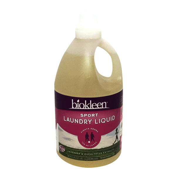 Biokleen Sports Laundry Liquid Detergent 128 Loads