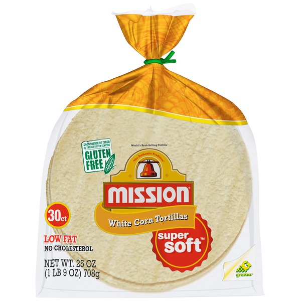 Mission White Corn Soft Tortillas