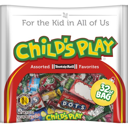 Childs Play Assorted Tootsie Roll Favorites Christmas Candy