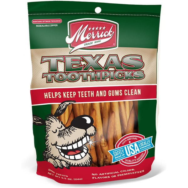 Merrick Texas Toothpicks Dog Treats