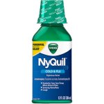 Vicks® NyQuil™ Cold & Flu Nighttime Relief Liquid 12 fl. oz. Bottle