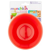 Munchkin Multi Bowls 6+ Months, 5 count