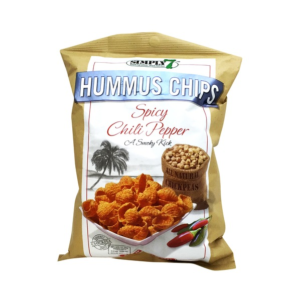 Simply 7 Hummus Chips Spicy Chili Pepper