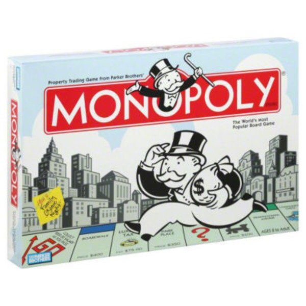 Parker Brothers Monopoly Family Game