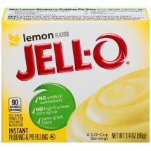 Jell-O Instant Pudding & Pie Filling Lemon, 3.4 Oz