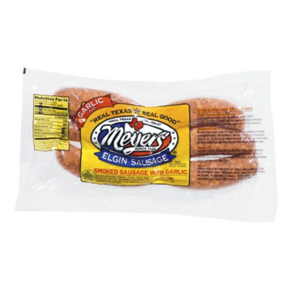 Meyer's Smoked Sausage W/ Garlic