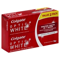 Colgate Toothpaste Optic White Sparkling Mint Twin Pack - 2