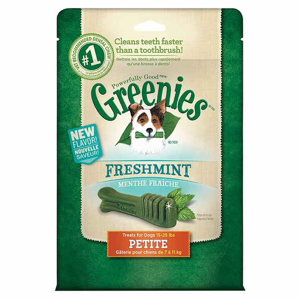 Greenies Dental Fresh Petite Dog Treats