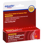 Equate Severe Toothache & Gum Relief Oral Pain Reliever/Antiseptic