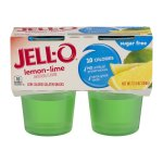 Jell-O Sugar Free Lemon-Lime - 4 CT