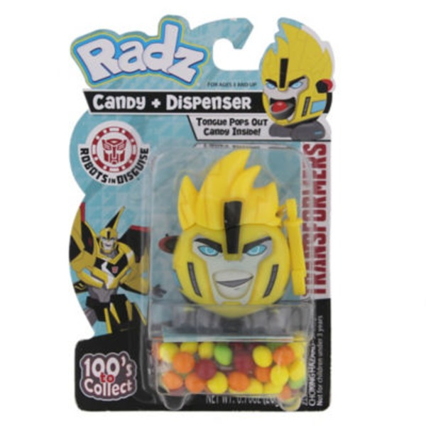 Radz Transformers Candy & Dispenser