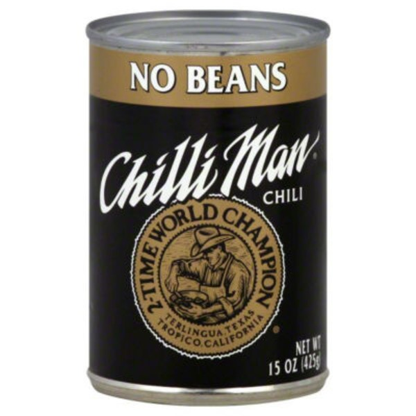 Chilli Man No Beans Chili