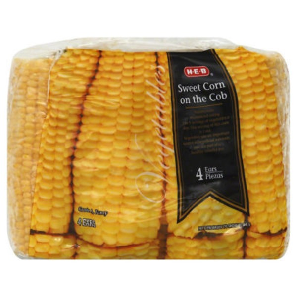 H-E-B Corn On The Cob Full Ears