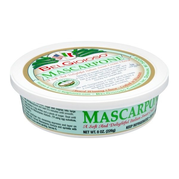 BelGioioso Cheese Mascarpone Cream Cheese Spread