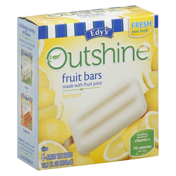 Edy's Outshine Lemon Fruit Bars