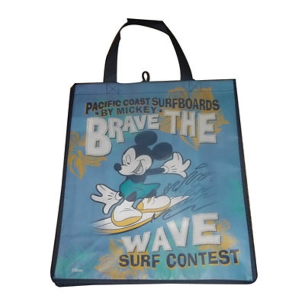 Disney Tote Bag Mickey Brave The Wave Surf