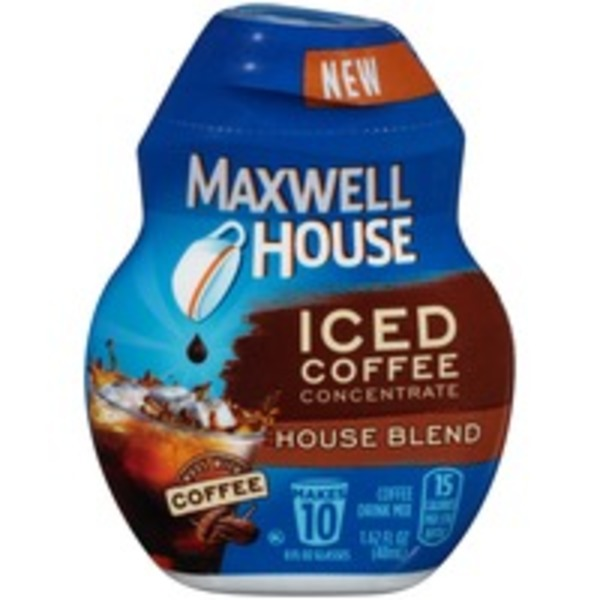 Maxwell House House Blend Iced Coffee Concentrate