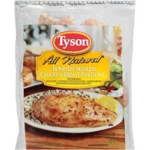 Tyson All Natural Boneless Skinless Chicken Breasts, 40.0 OZ