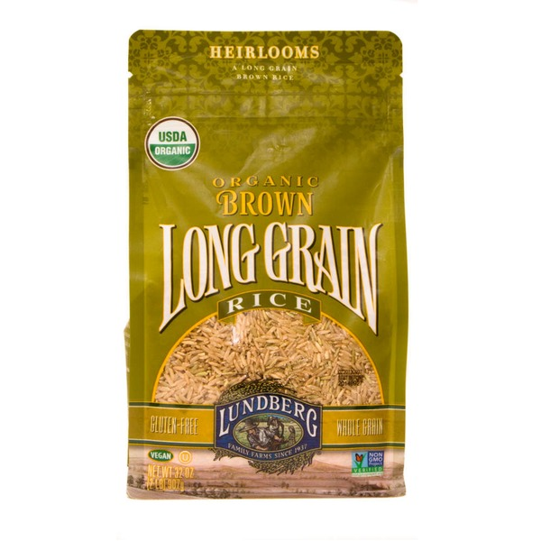 Lundberg Family Farms OG Brn Long Grain Organic Brown Rice