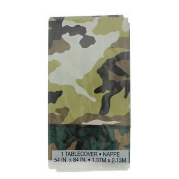 Unique Military Camo Plastic Table Cover