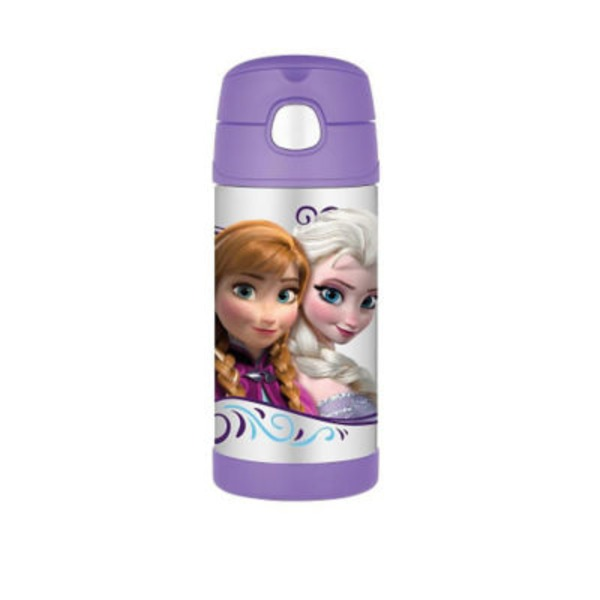 Thermos 12 Oz FuNtainer Bottle Featuring Disney Frozen