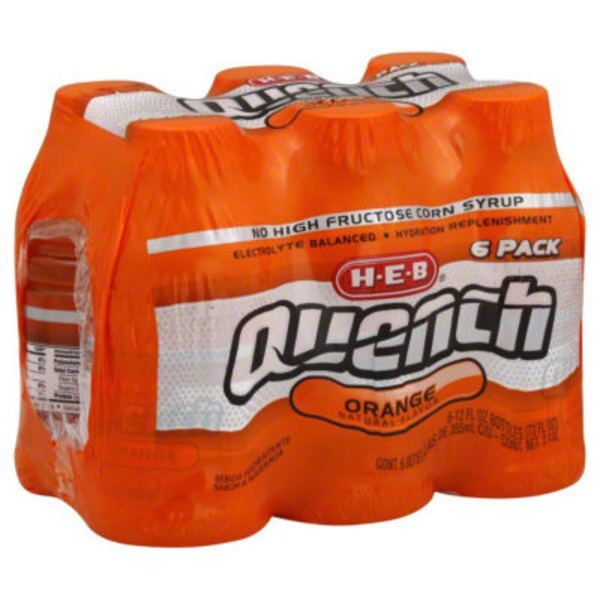 H-E-B Quench Orange
